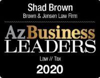 Az Business Leaders 2020 badge
